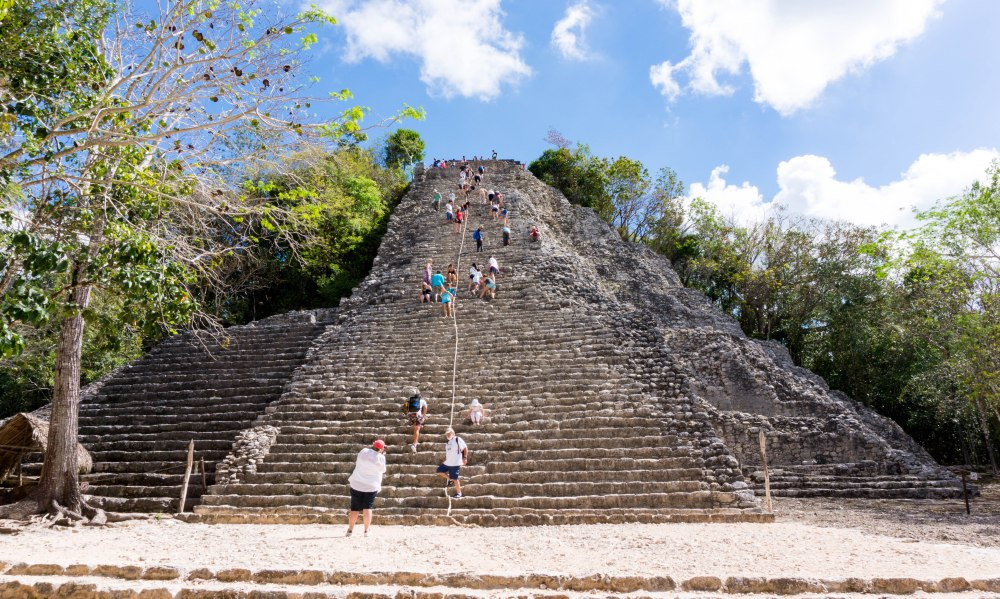 Coba_Maya Stätte_Pyramide