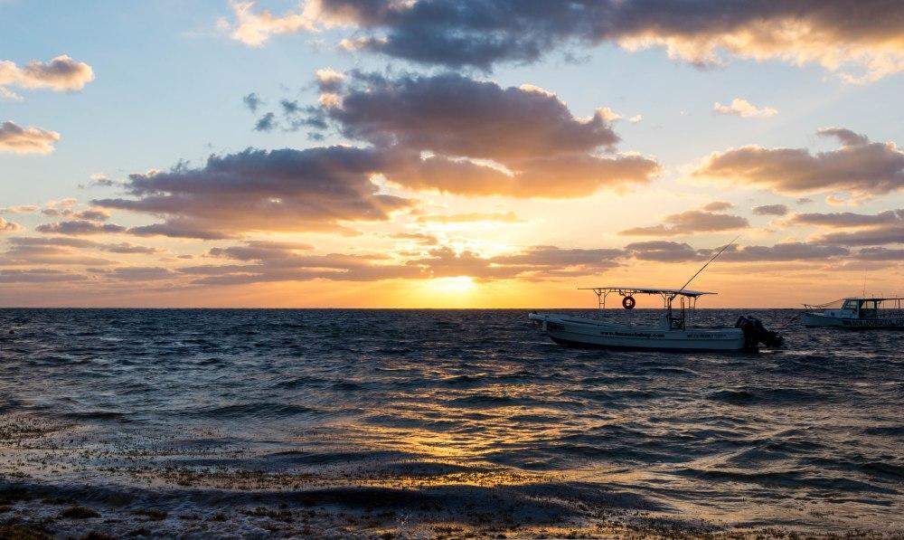 PuertoMorelos_Sonnenaufgang_Meer