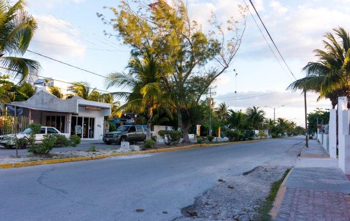 PuertoMorelos_Straße