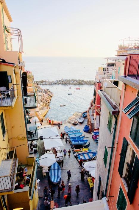 Riomaggiore_Hafen - 1