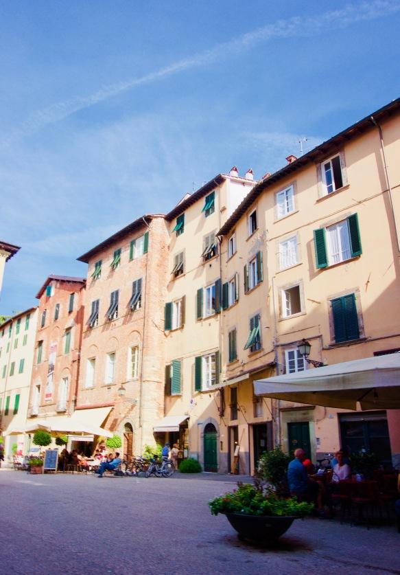 Toskana_Lucca_Häuser - 1