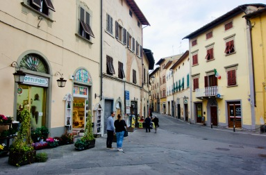 Toskana_San Miniato_Straße - 1