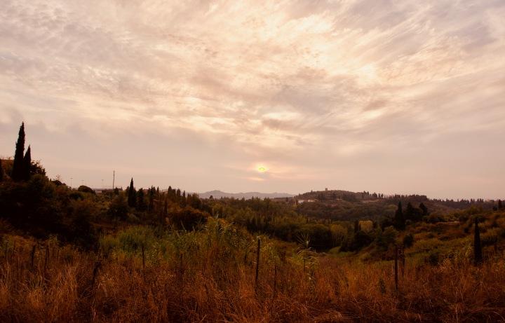 Toskana_Sonnenuntergang - 1