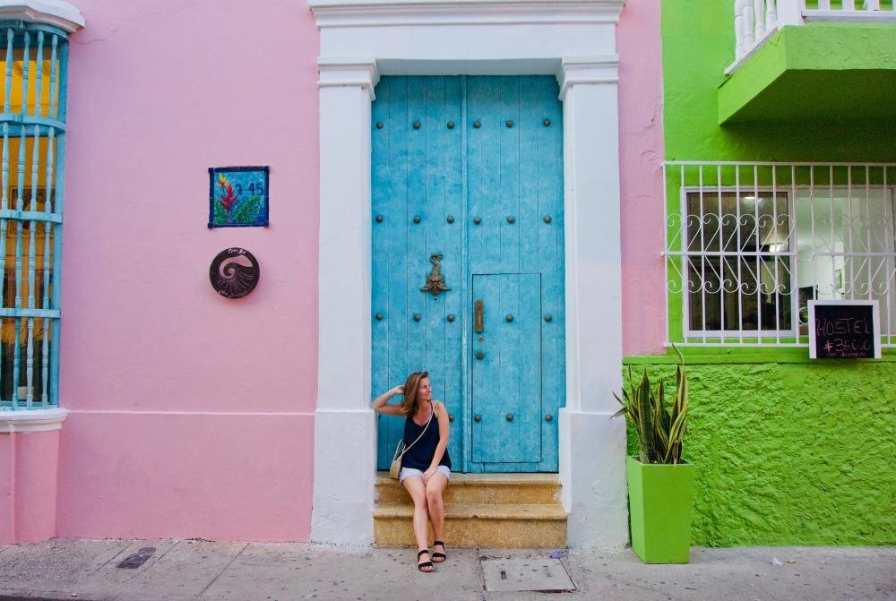 Kolumbien_Cartagena_Kolonialhaus - 1