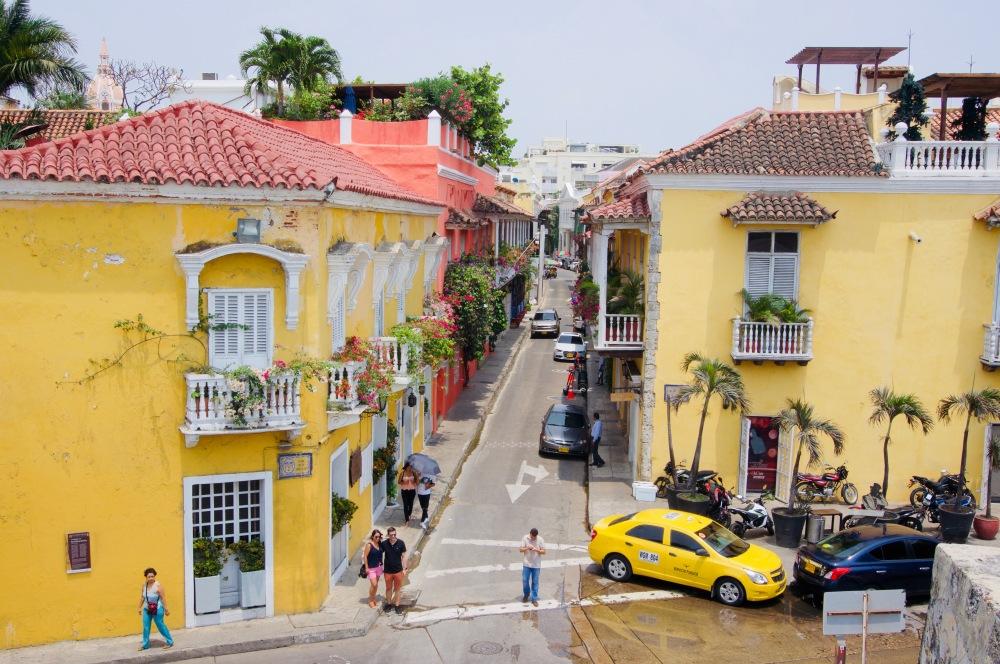 Kolumbien_Cartagena_Straße - 1