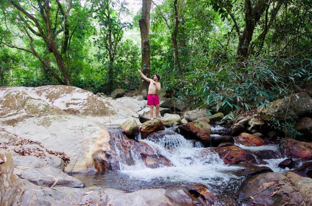 Kolumbien_Minca_Wasserfall - 1