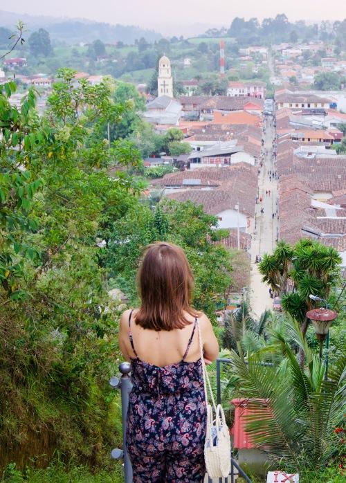 Kolumbien_Salento_Aussicht_Karo - 1