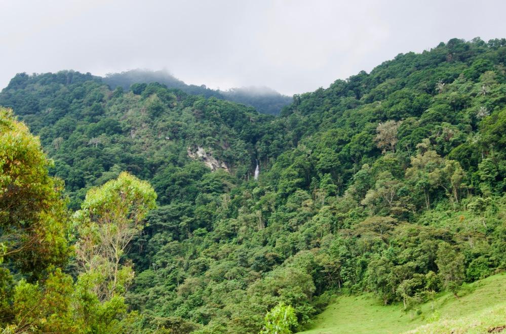Kolumbien_Salento_Wasserfall_Ferne - 1