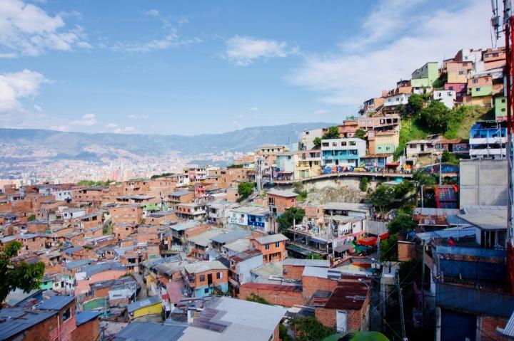 Kolumbien_Medellin_Comuna 13 - 1