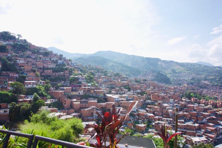 Kolumbien_Medellin_Comuna13_Aussicht4 - 1
