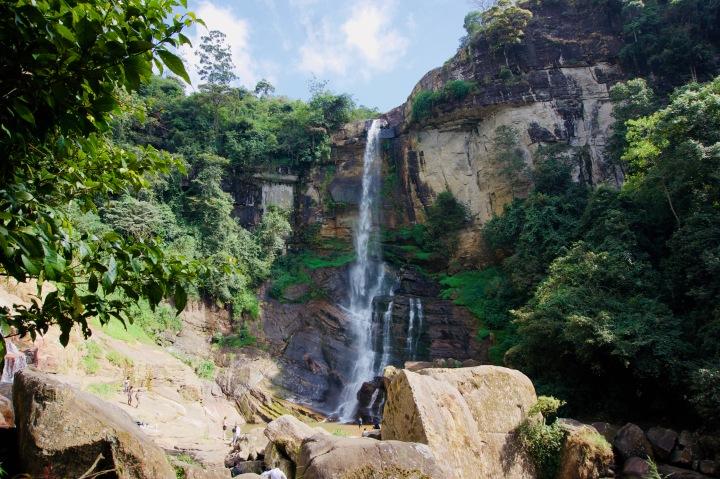 Sri Lanka_Nuwara Eliya_Ramboda Wasserfall - 1
