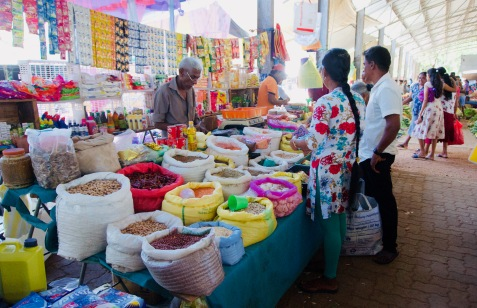 Dambulla_Lokaler Markt2 - 1