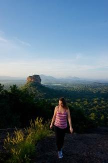 Dambulla_Pidurangale Rock_Aussicht - 1