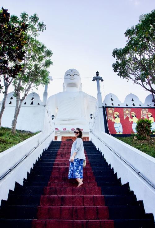 Kandy_Bahiravokanda Vihara Buddha Statue - 1