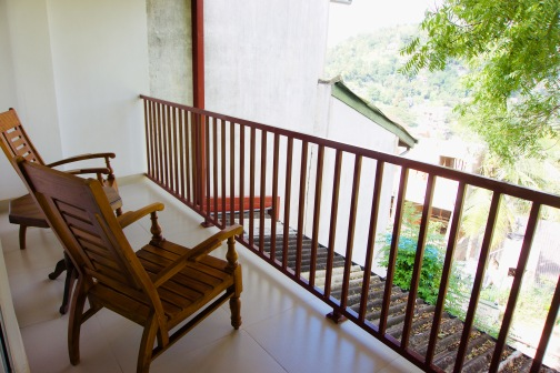 Kandy_White Lodge_Balkon - 1