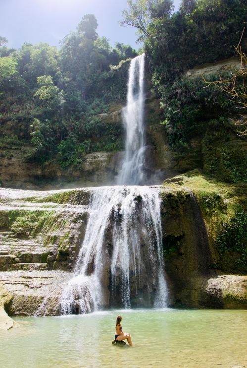 Philippinen_Bohol_Anda_Wasserfall - 1