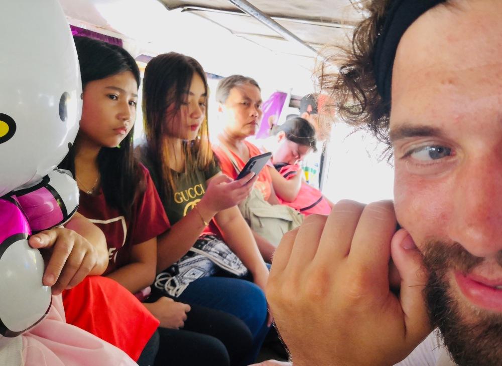 Philippinen_Bohol_Jeepney Fahrt - 1