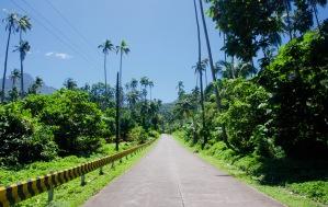 Philippinen_Camiguin_Straße - 1